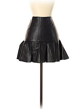 Armani Exchange Faux Leather Skirt Size 4