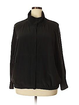 Eileen Fisher Long Sleeve Silk Top Size 1X (Plus)