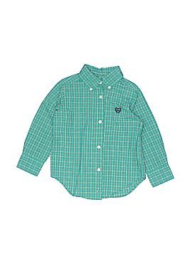 Chaps Long Sleeve Button-Down Shirt Size 2T