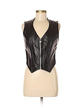 Casual Corner Leather Jacket Size M