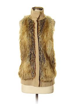 MICHAEL Michael Kors Faux Fur Vest Size XXS