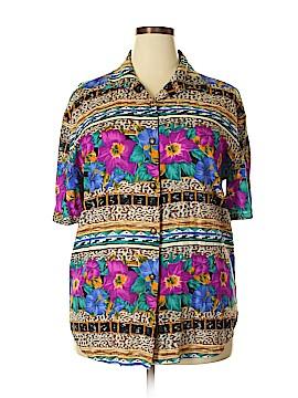 Kathie Lee 3/4 Sleeve Blouse Size 18 (Plus)