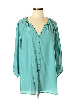 Reba 3/4 Sleeve Blouse Size L
