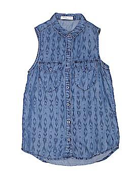 Pinc Premium Sleeveless Button-Down Shirt Size M (Youth)