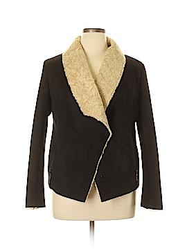 Bernardo Faux Leather Jacket Size L