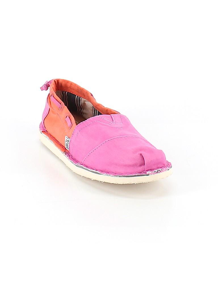 5e8289d832f TOMS Color Block Pink Flats Size 7 - 60% off