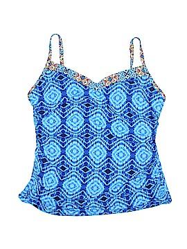 Bleu Rod Beattie Swimsuit Top Size 20 (Plus)