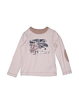 Burberry Long Sleeve T-Shirt Size 4