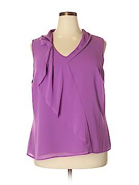 Jones New York Collection Sleeveless Blouse Size 18 (Plus)