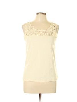 Jones New York Country Sleeveless Blouse Size M