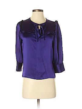 MYNE 3/4 Sleeve Silk Top Size 2