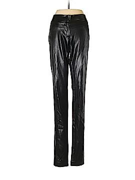 Diane von Furstenberg Faux Leather Pants Size 0
