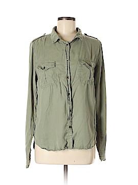 Universal Thread Long Sleeve Button-Down Shirt Size M