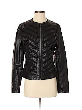 DressBarn Faux Leather Jacket Size S