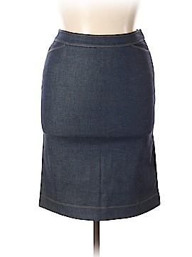 Donna Karan Signature Denim Skirt Size 16 (UK)
