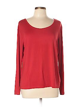 Danskin Now Long Sleeve T-Shirt Size 20 (Plus)