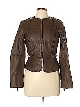 Max Studio Leather Jacket Size 10