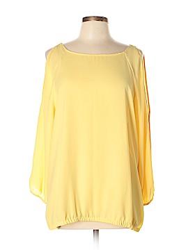 7th Avenue Design Studio New York & Company 3/4 Sleeve Blouse Size XL