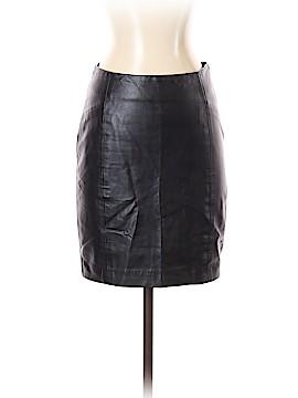 Blaque Label Faux Leather Skirt Size S