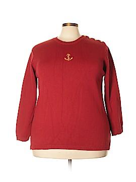 Jones New York Sport Pullover Sweater Size 2X (Plus)