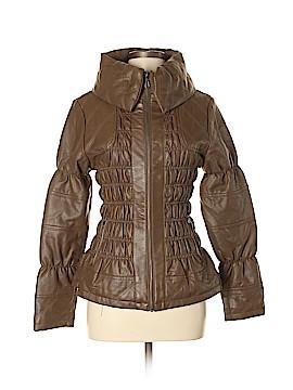 G.I.L.I. Faux Leather Jacket Size M