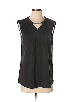 Brunello Cucinelli Sleeveless Silk Top Size M
