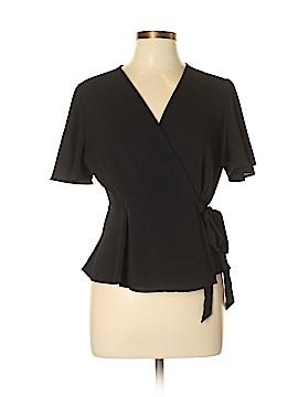Monteau Short Sleeve Blouse Size XL