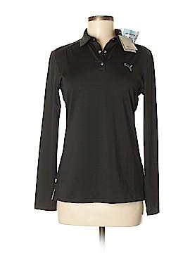 Puma Long Sleeve Polo Size M