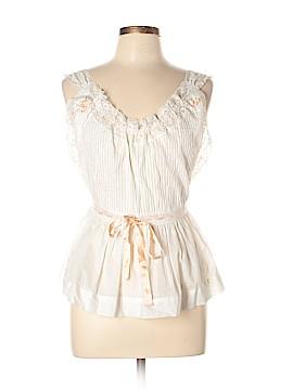Jill Stuart Sleeveless Silk Top Size Med (2)