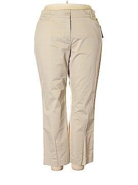 Kim Rogers Khakis Size 20 (Plus)