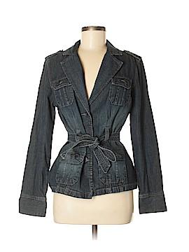 French Cuff Denim Jacket Size M