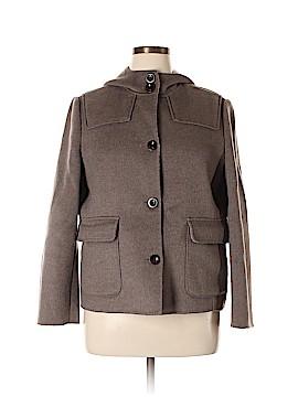 Lands' End Wool Coat Size 14 (Petite)
