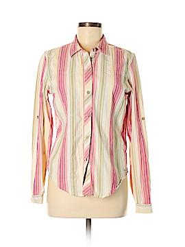 ExOfficio Long Sleeve Button-Down Shirt Size M