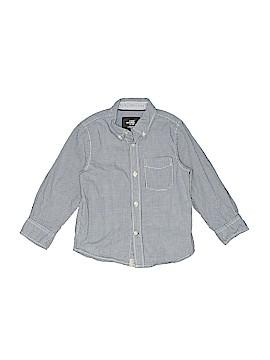 H&M L.O.G.G. Long Sleeve Button-Down Shirt Size 2T - 3T