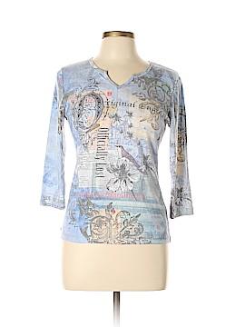 Vintage Suzie 3/4 Sleeve Top Size L