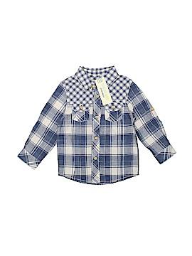 Genuine Kids from Oshkosh Short Sleeve Button-Down Shirt Size 2T