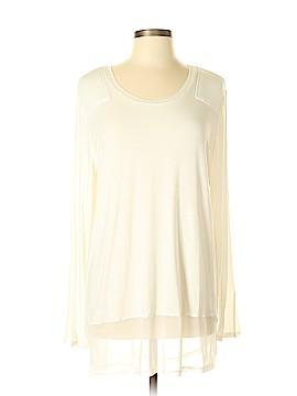 G by Giuliana Rancic Long Sleeve Top Size L