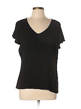Eileen Fisher Short Sleeve Blouse Size XL
