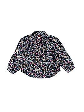 Tea Long Sleeve Button-Down Shirt Size 2