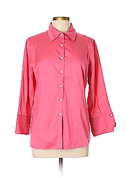 KIRKLAND Signature Long Sleeve Button-Down Shirt Size L