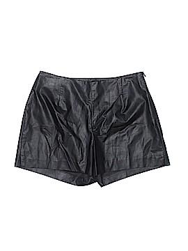 Jennifer Lopez Faux Leather Shorts Size 2