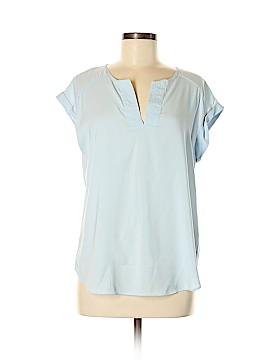 7th Avenue Design Studio New York & Company Short Sleeve Blouse Size M