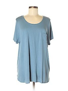 Joe Fresh Short Sleeve T-Shirt Size 1X (Plus)