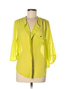 Ultra Flirt 3/4 Sleeve Blouse Size L