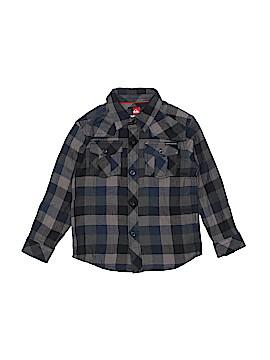Quiksilver Long Sleeve Button-Down Shirt Size 3T