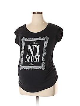 Maternity Short Sleeve Top Size 16 (Maternity)