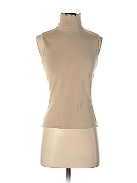 Ralph Lauren Black Label Sleeveless Silk Top Size S