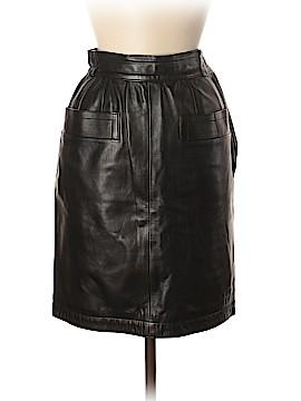 Yves Saint Laurent Rive Gauche Leather Skirt Size 38 (EU)