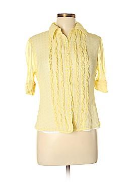 Anne Klein Short Sleeve Blouse Size 10