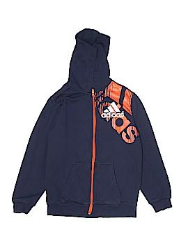 Adidas Zip Up Hoodie Size M (Kids)